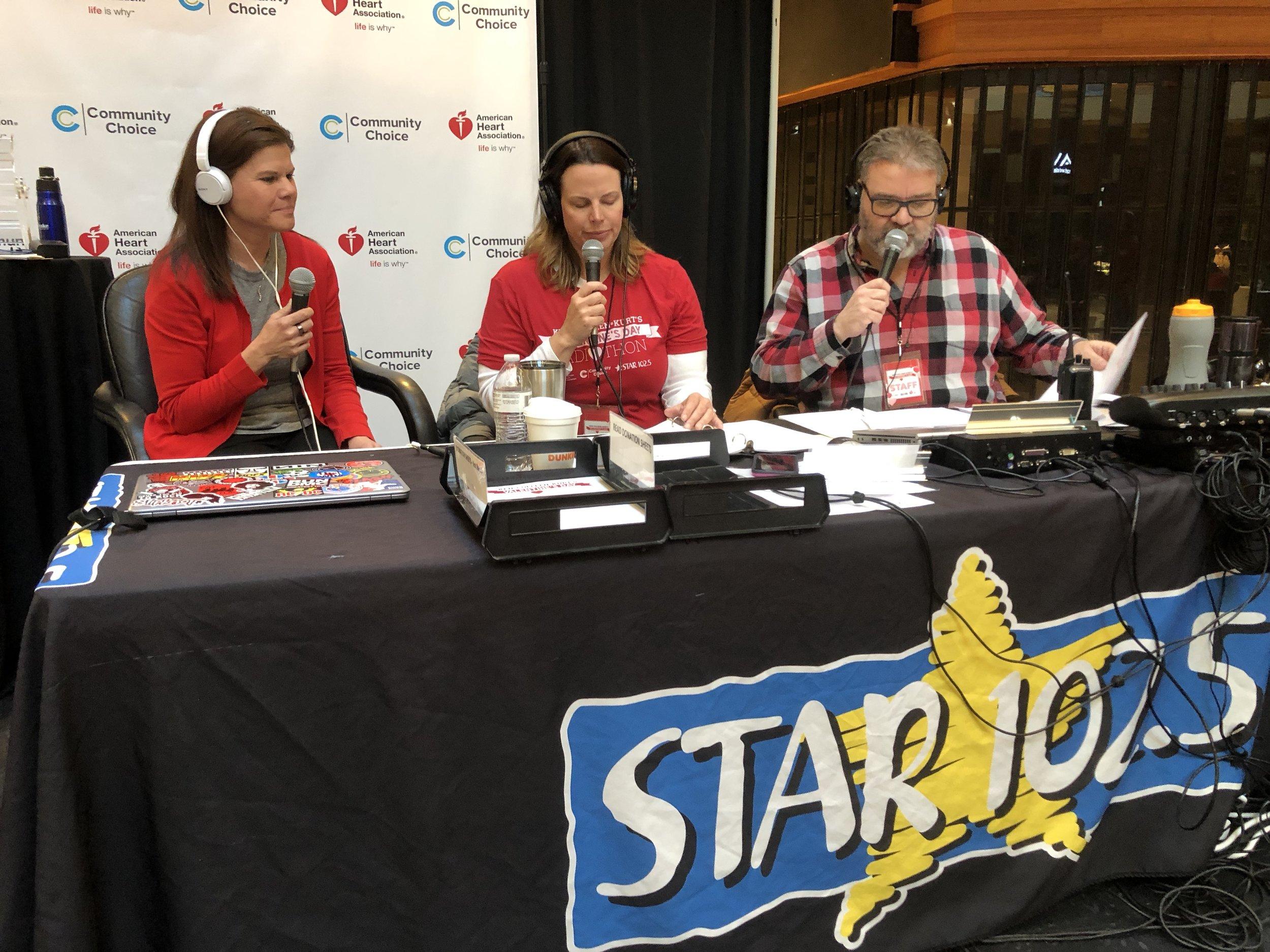 - Ken, Colleen and Kurt's Valentine's Day Radiothon