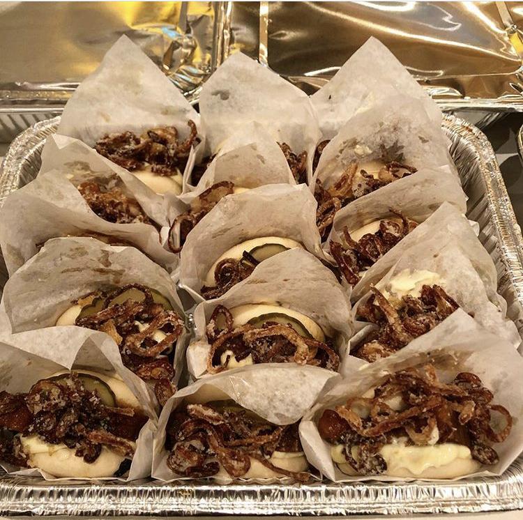 Slowcooked Beef Gwa Baos