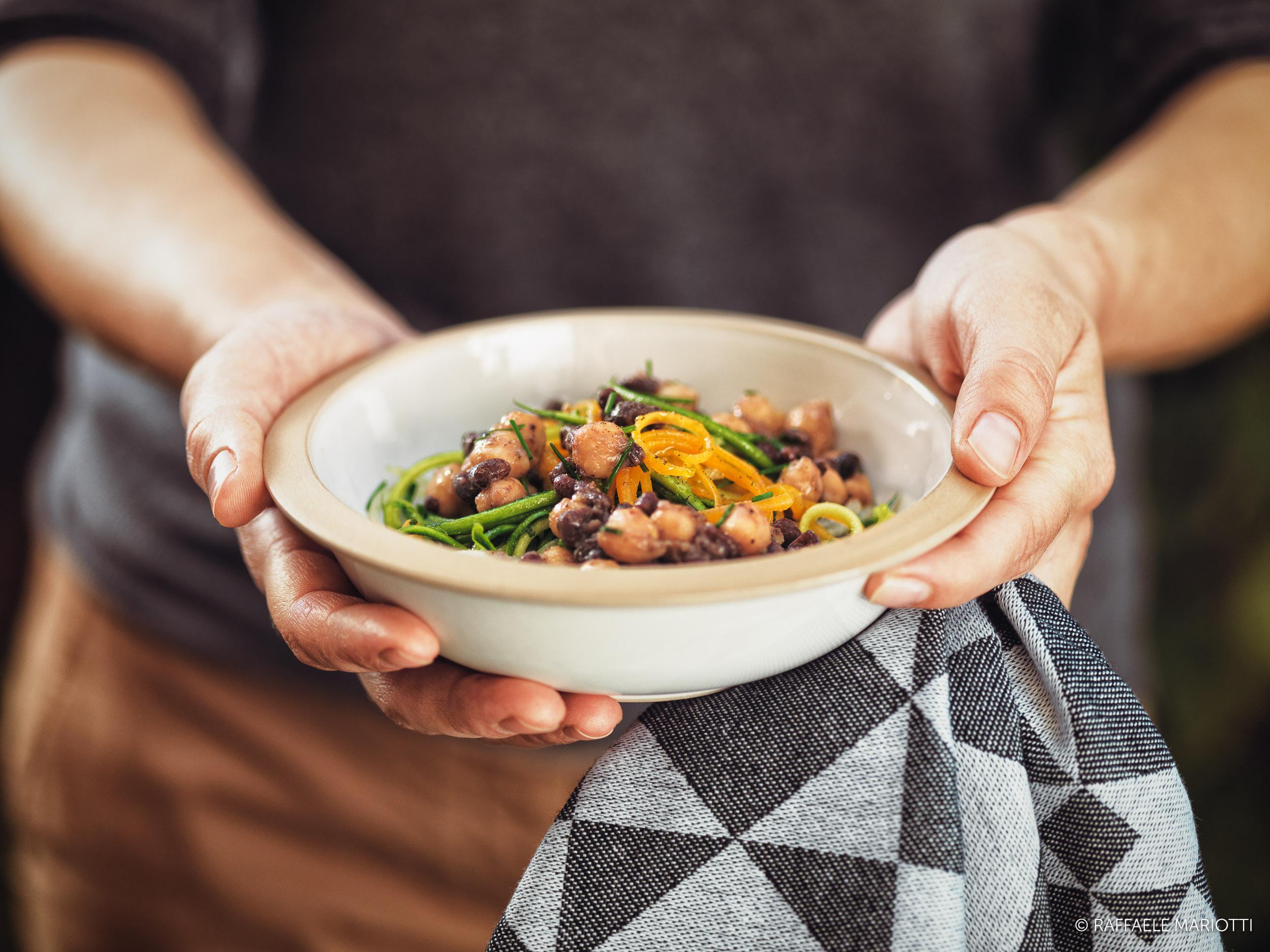 Insalata di ceci – Raffaele Mariotti fotografo food
