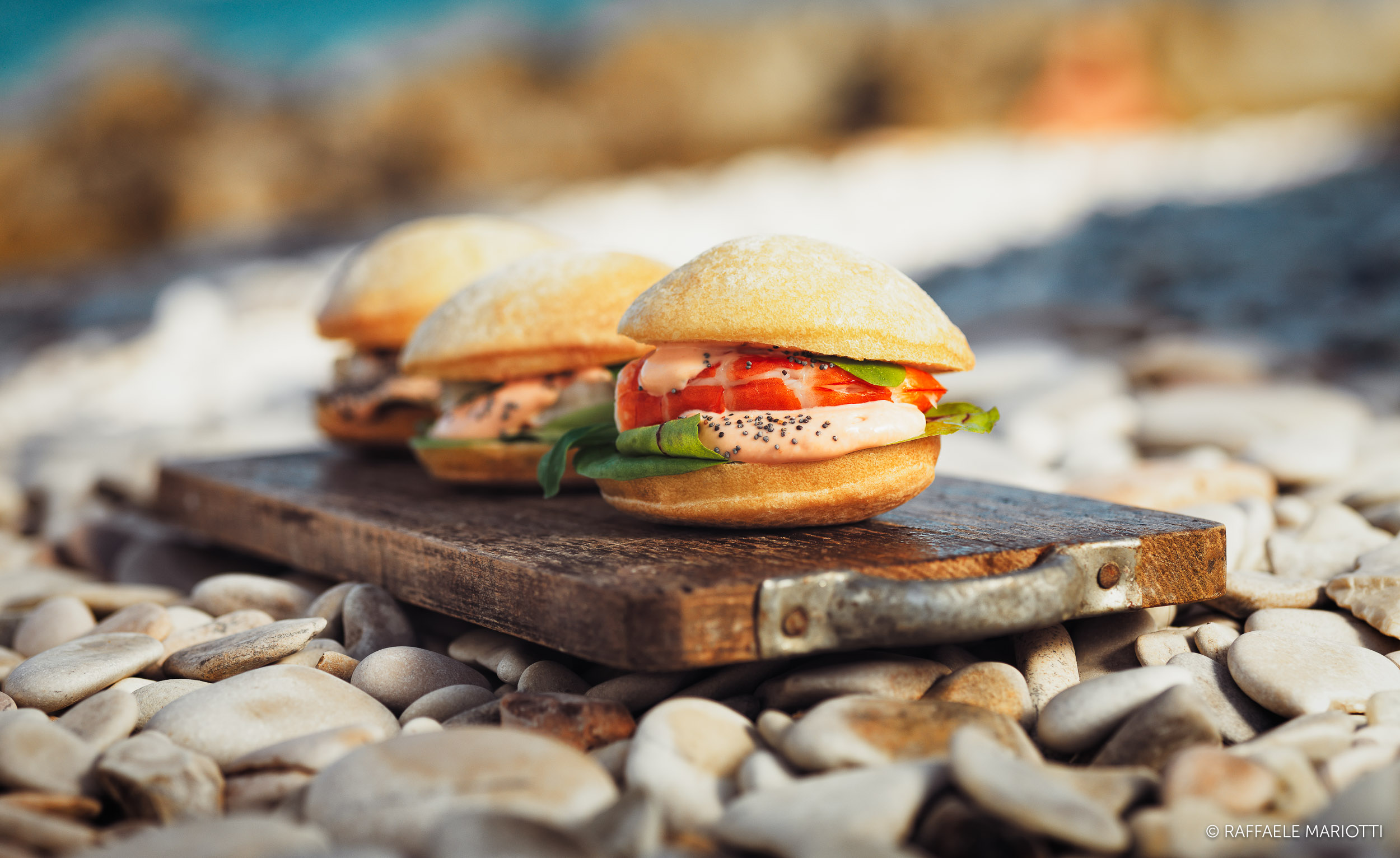 Panini on the beach – Raffaele Mariotti fotografo food