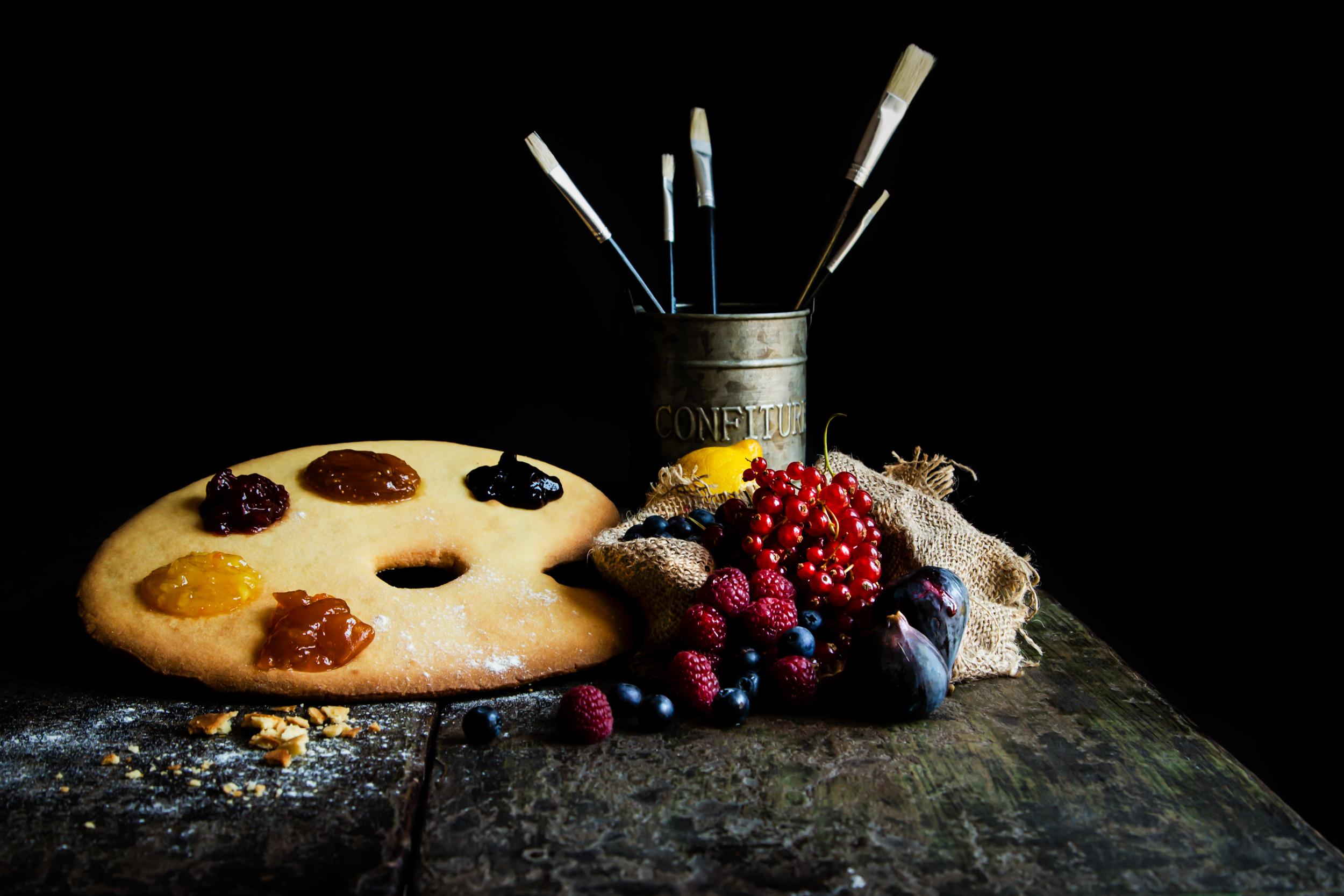 Food painting. Il cibo diventa arte foto di Tatiana Mura