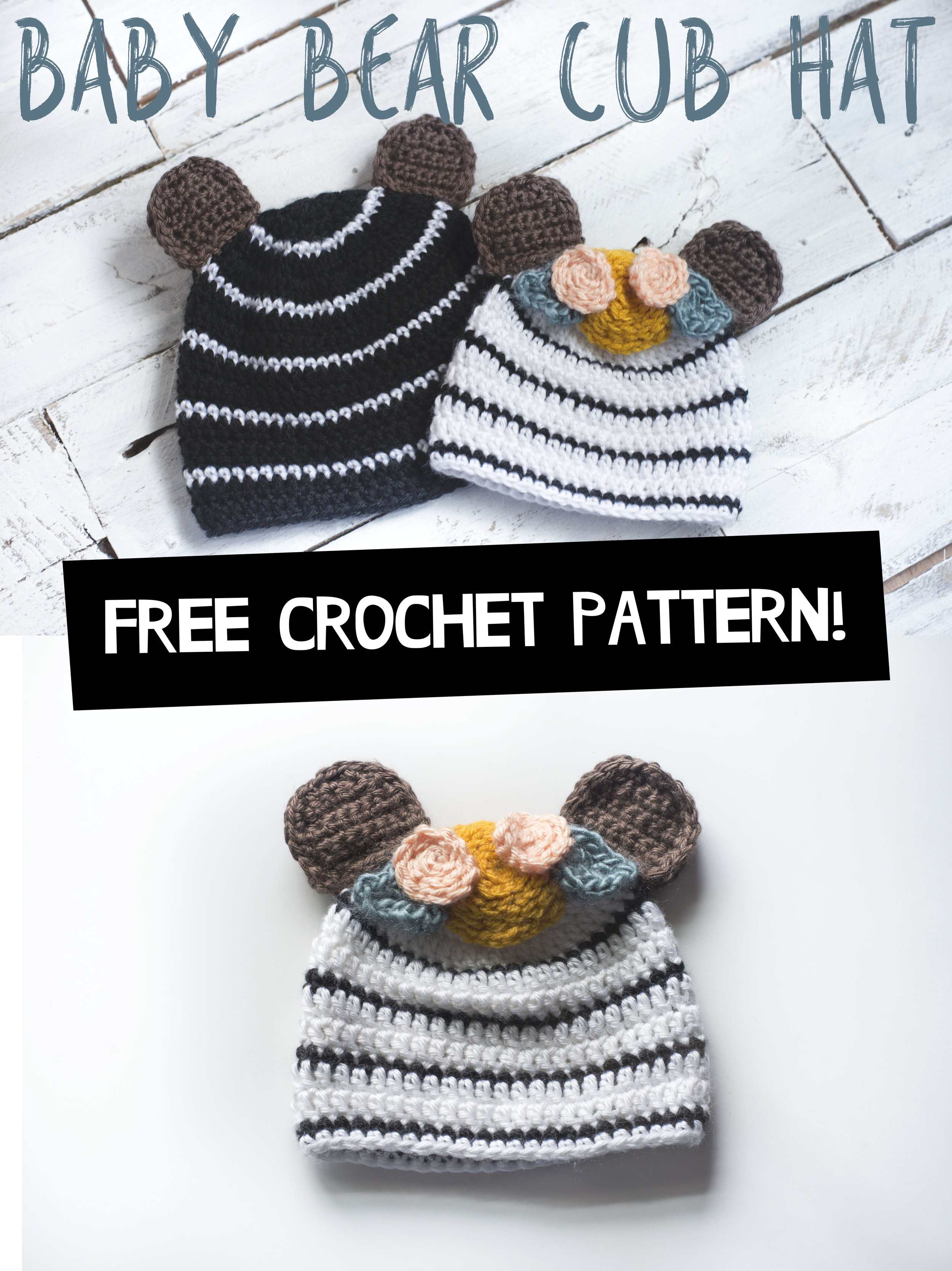 Free Crochet Patterns and Designs by LisaAuch: Cute Easy Quick ... | 1335x1000