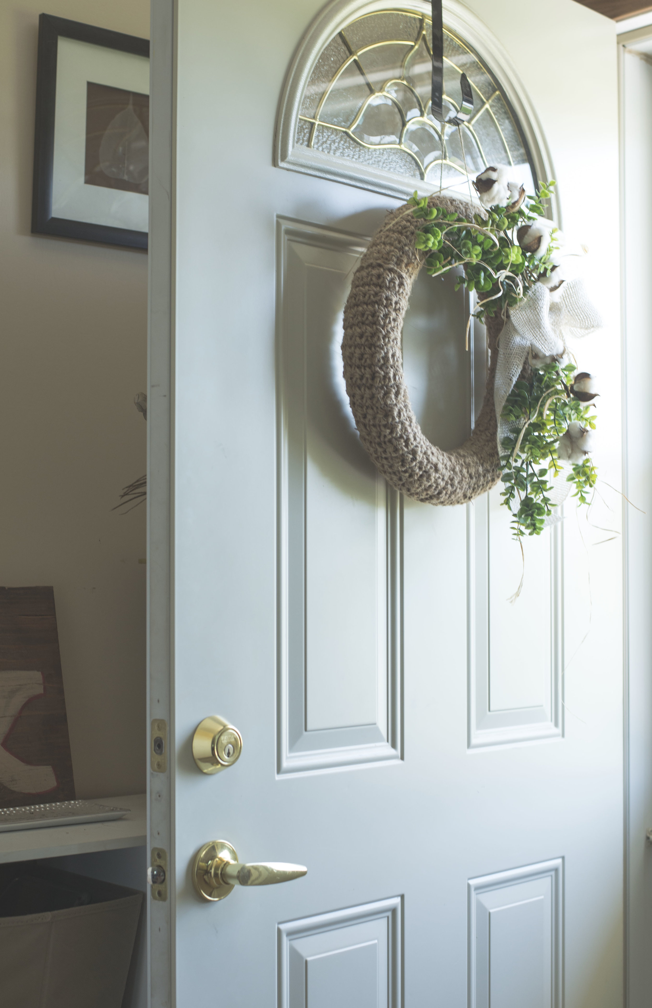 A Free Farmhouse-Inspired Jute Wreath Crochet Pattern — Megmade with