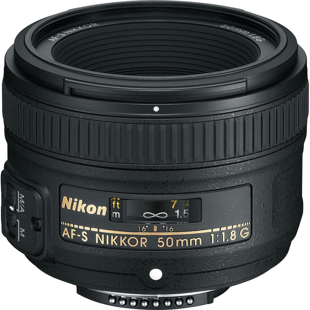 Nikon Nikkor AF-S 50mm F/1.8G Prime Lens
