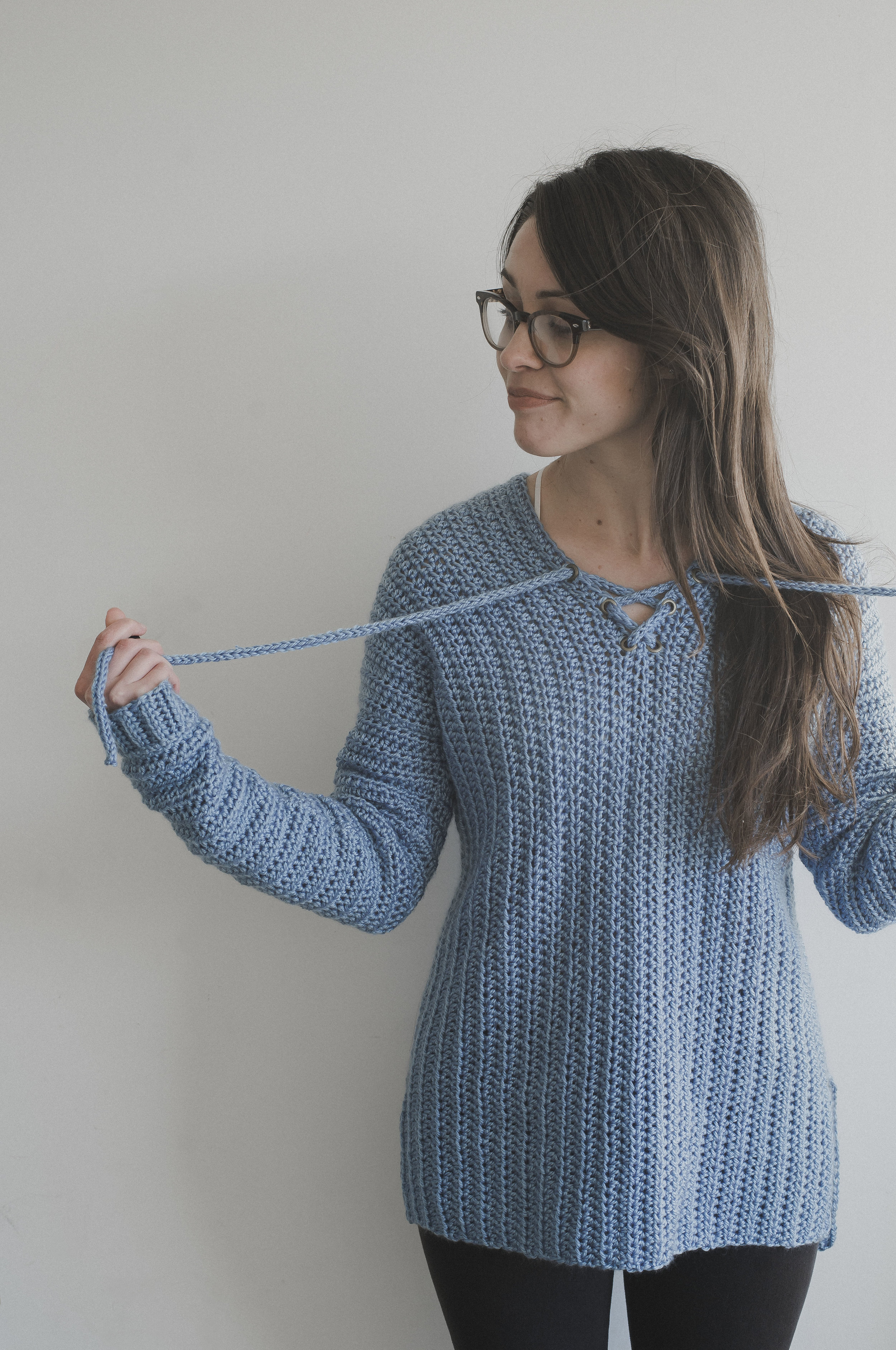 Free Crochet Pattern For The Cross My Heart Sweater Megmade With Love