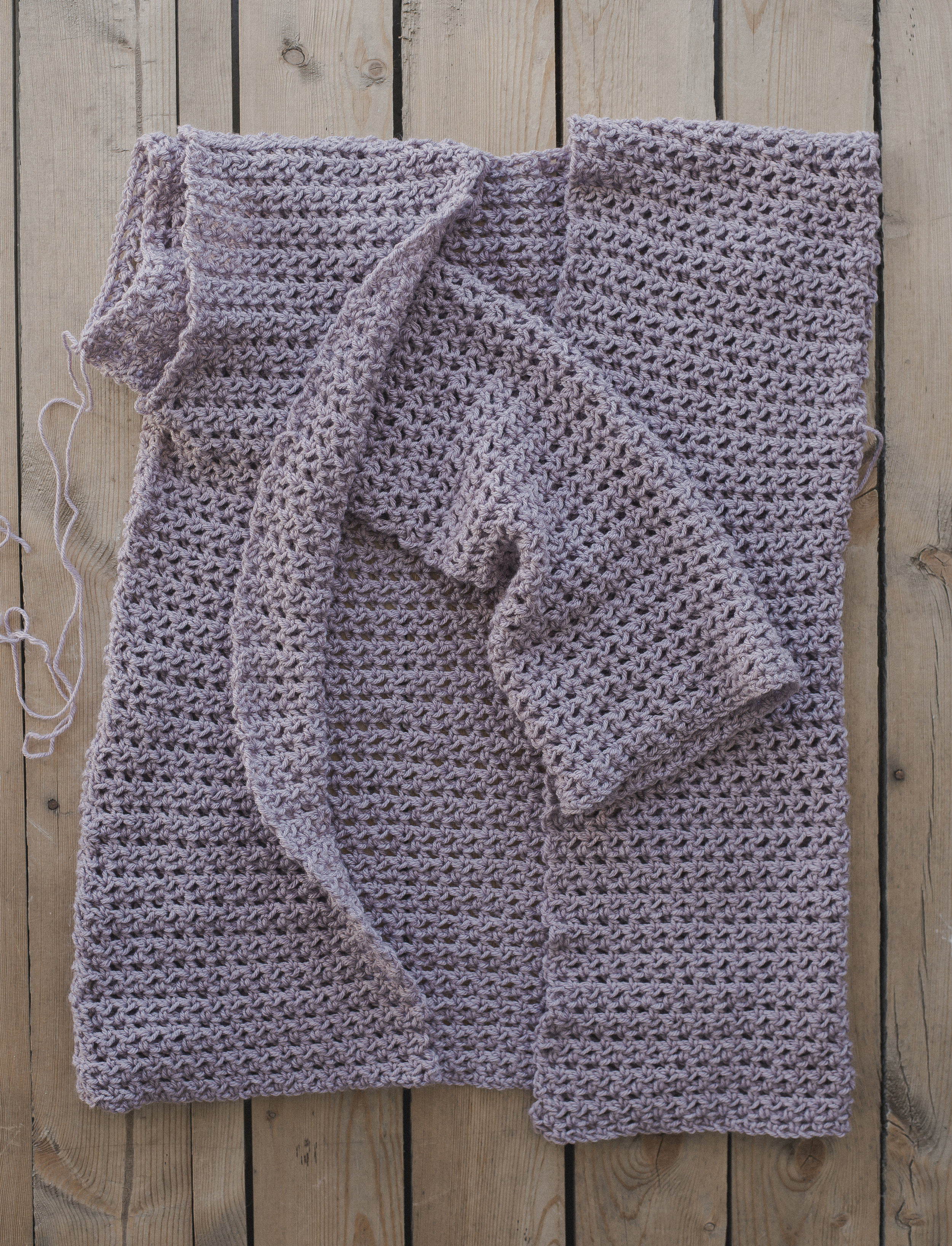 Free Crochet Pattern for The Perfect Spring Sweater - Megmade with Love