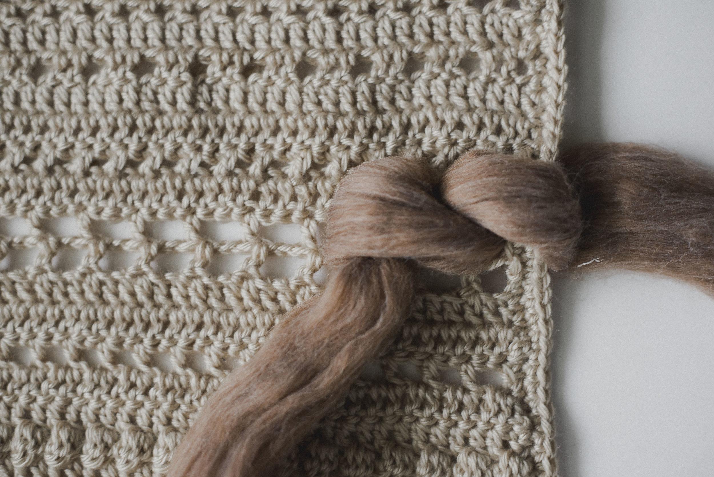 Crochet Woven Wall Hanging