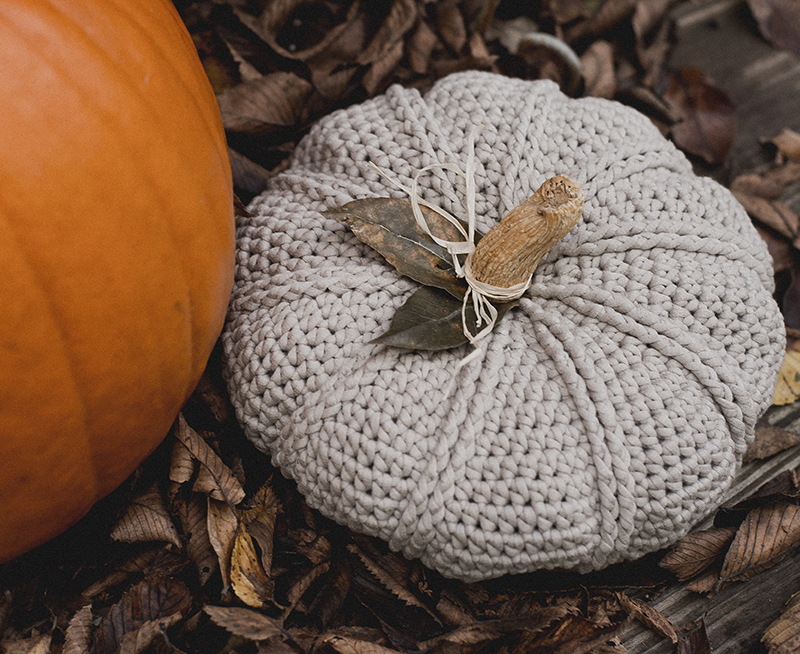 Free Crochet Pumpkin Pattern - Megmade with Love