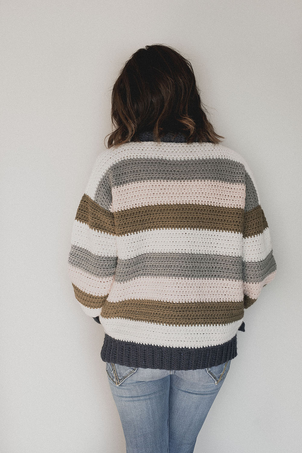 Free Crochet Pattern - Retro Stripes Sweater - Megmade with Love