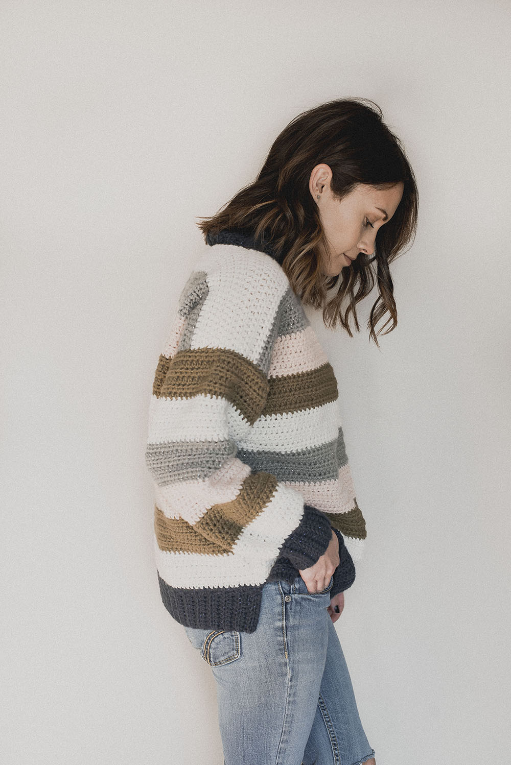 Free Crochet Pattern - Pullover - Megmade with Love