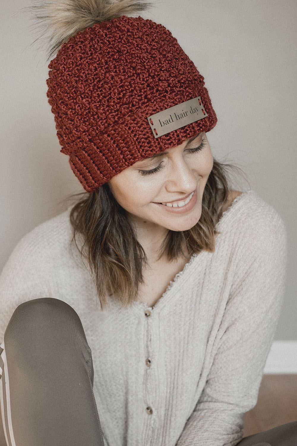 Free Crochet Pattern - Bad Hair Day Beanie - Megmade with Love