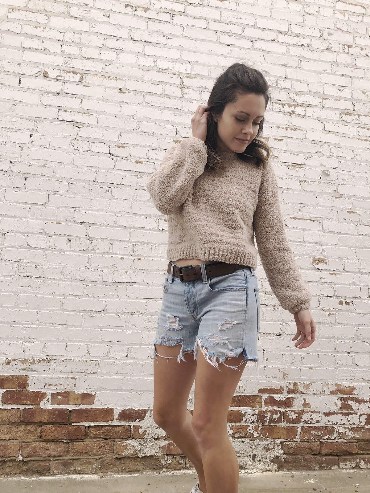 Megmade with Love - Crochet Cropped Sweater