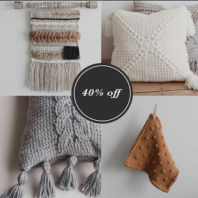 If you're in the market for a new crochet project, all the home decor patterns are on supa supa sale through tomorrow 💃� lots to choose from! . . #megmadewithlove #yarn #crochet #crocheting #crochetpattern #crochetdecor #crochetersofinstagram #crochetgirlgang #crochetlove #handmade #etsy #makersgonnamake
