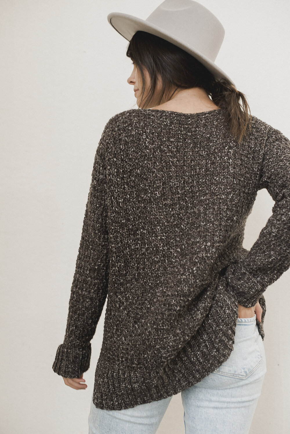 Free Crochet Pattern for the Home Girl Sweater - Megmade with Love