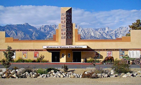 The Museum of Western Film History lies along Highway 395 in Lone Pine ( www.museumofwesternfilmhistory.org )