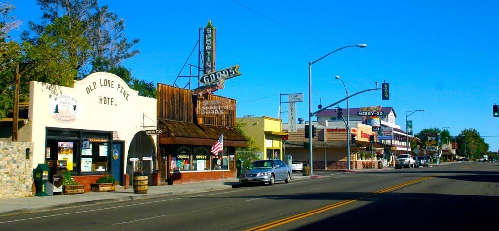 Downtown Lone Pine