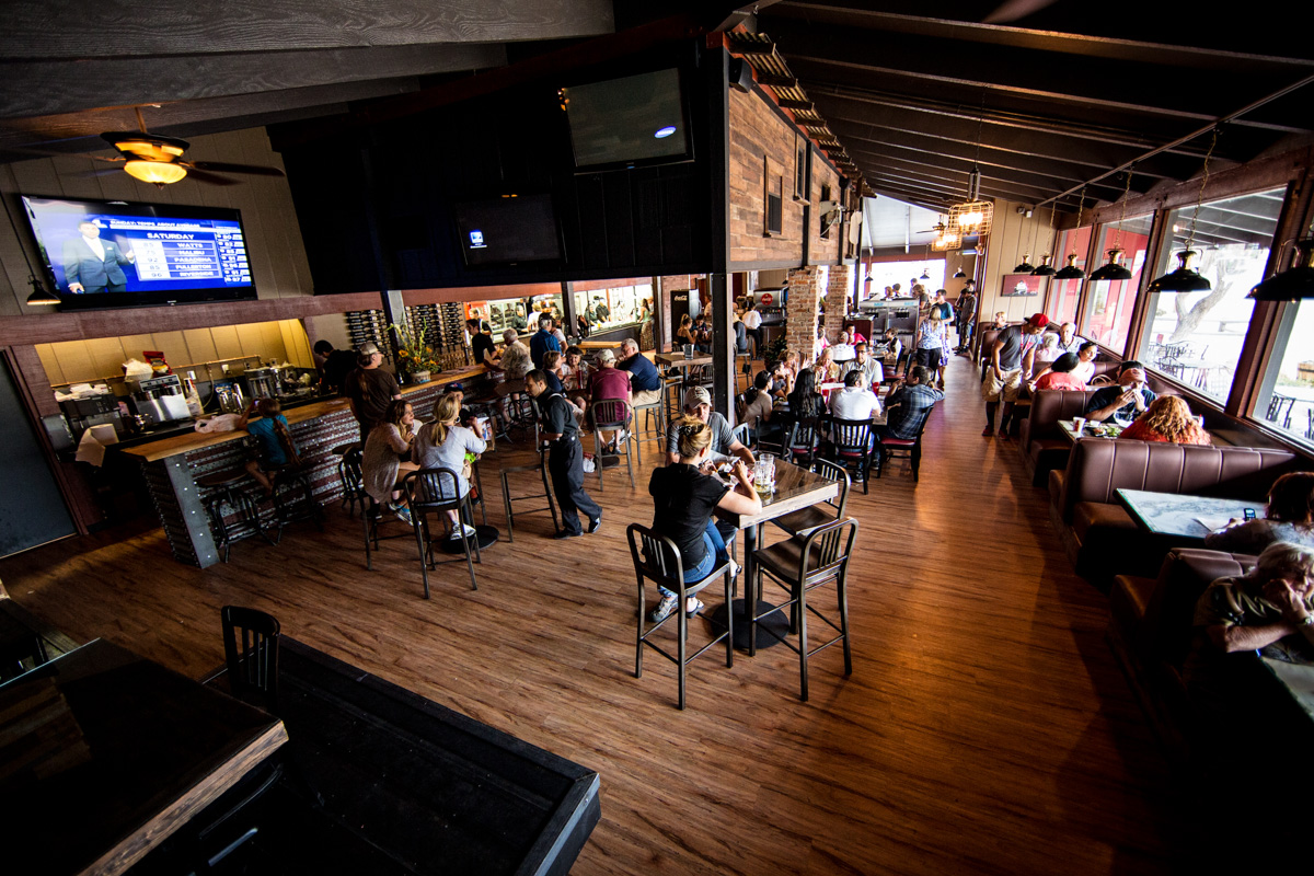 Aaron Schat's Roadhouse is the place to go for burgers, ribs, and beer. ( SchatsRoadhouse.com )