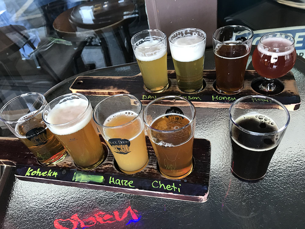 The flavors are plentiful at Black Doubt Brewing