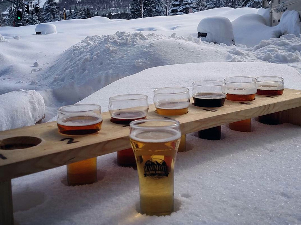 Winter can provide ample chilling effects while you sip ( easternsierrabrewerytours.com )