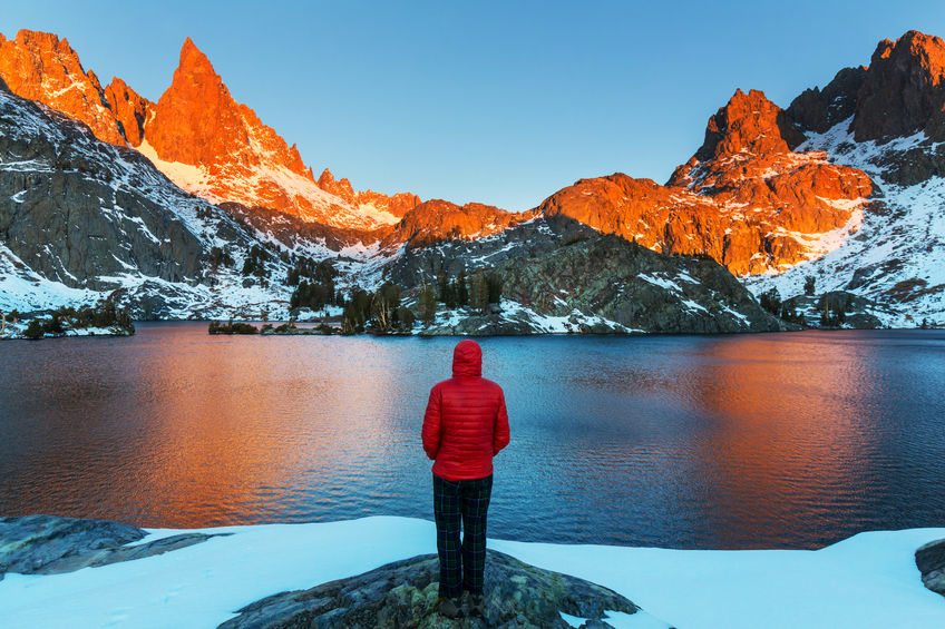 Some of the best winter hiking on the planet can be found in the Eastern Sierra