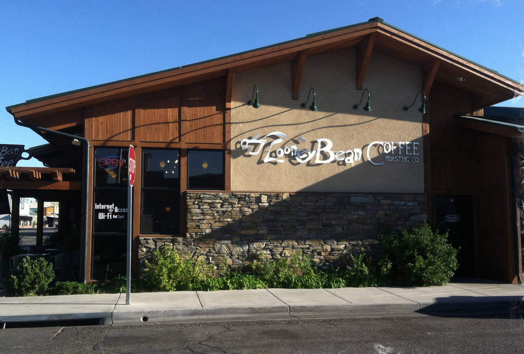 The newly expanded Looney Bean now has more options for seating as well as food