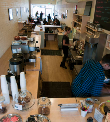 Black Sheep offers a cozy setting and friendly staff