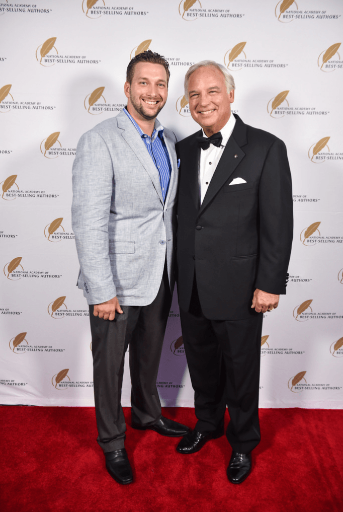 Jay Peak with Jack Canfield (Author Of Chicken Soup For The Soul)on the red carpet in Hollywood