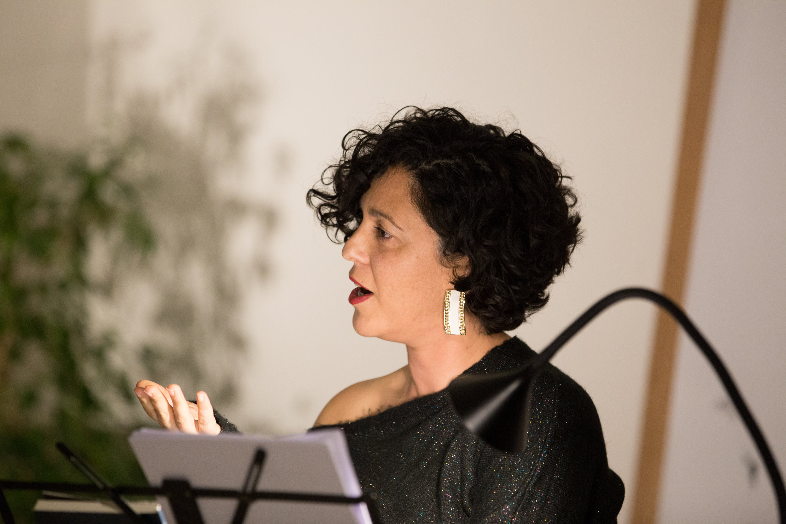 Reading with Clare Azzopardi