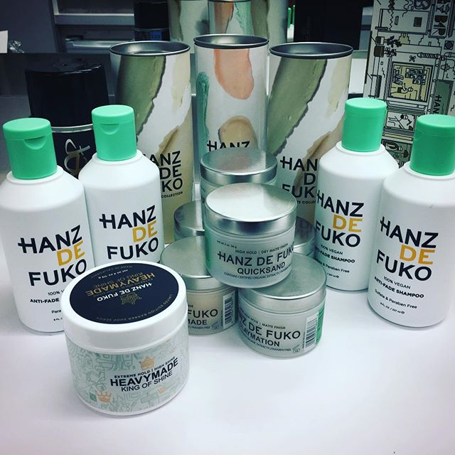 Thank you thank you @hanzdefuko we are loving your products on our actors. The packaging is also really cool and the fragrances delicious!! #friendsfromcollege #netflix #tv #hair #hairproducts #hanzdefuko #hairproductsthatwork #nychairstylist #newyorkhairstylist