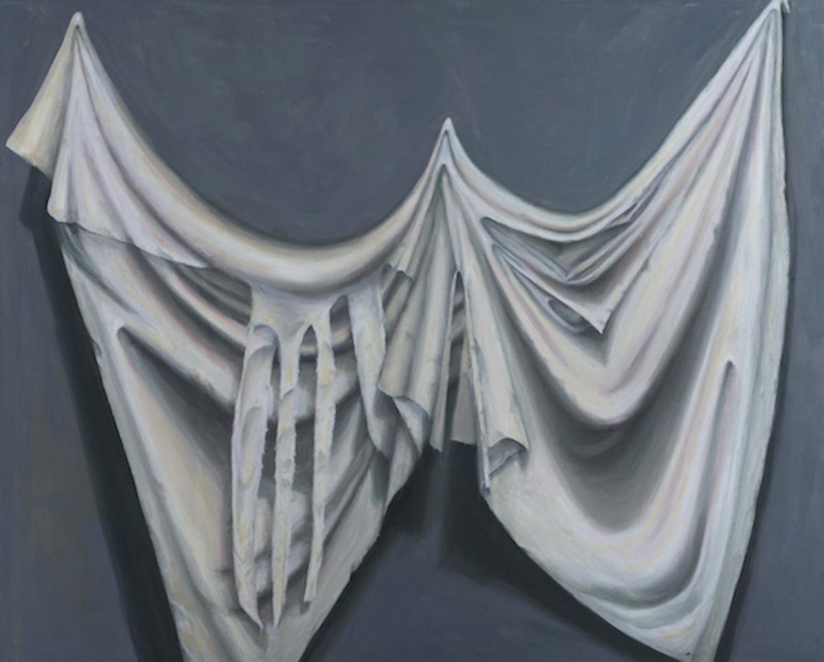 """Grief"", oil/canvas, 48"" x 60"", 2019"