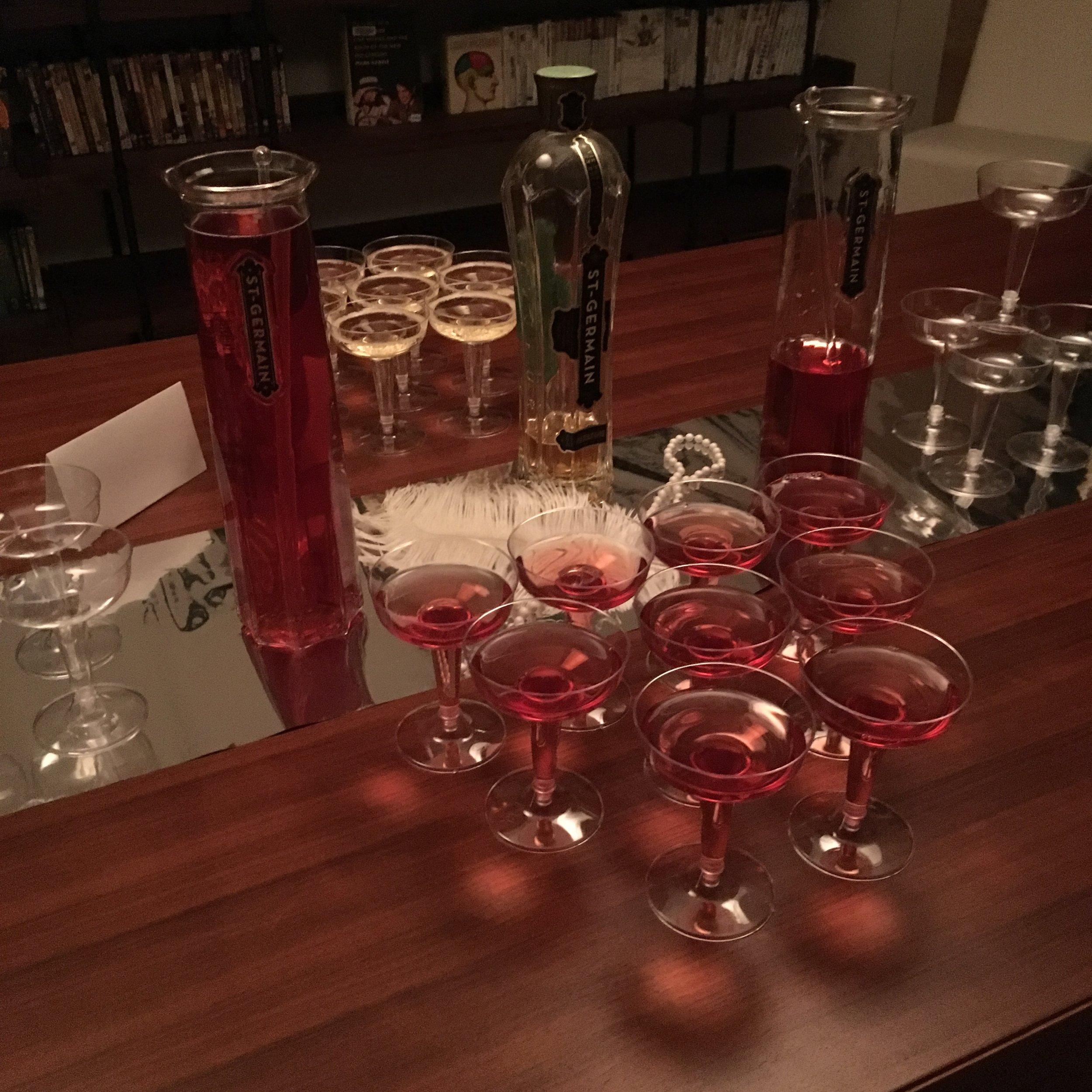 Gatsby Birthday Bar