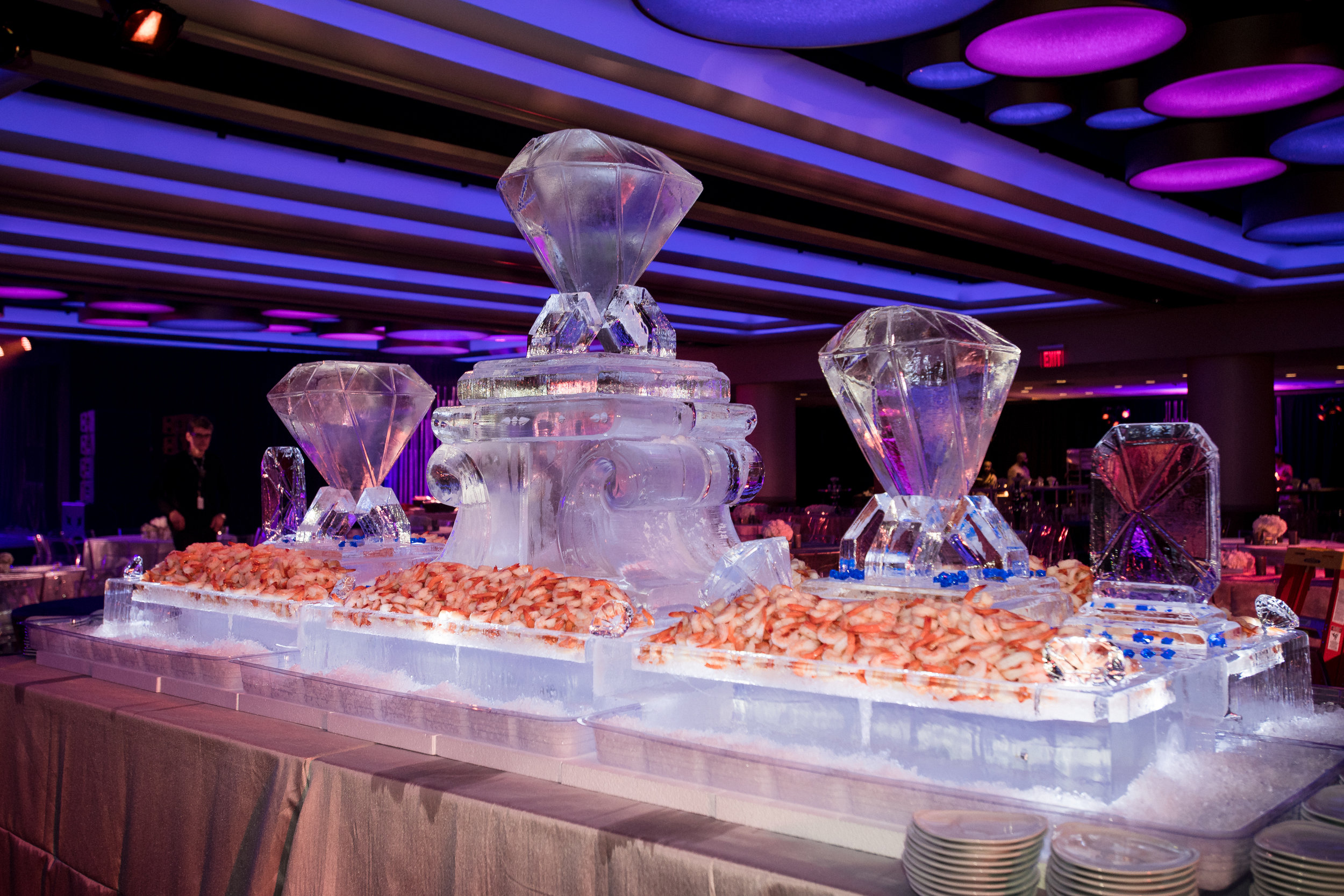 Grammy-60_2018-New York-Ice Sculpture-Diamond-Shrimp-Cocktail.jpg