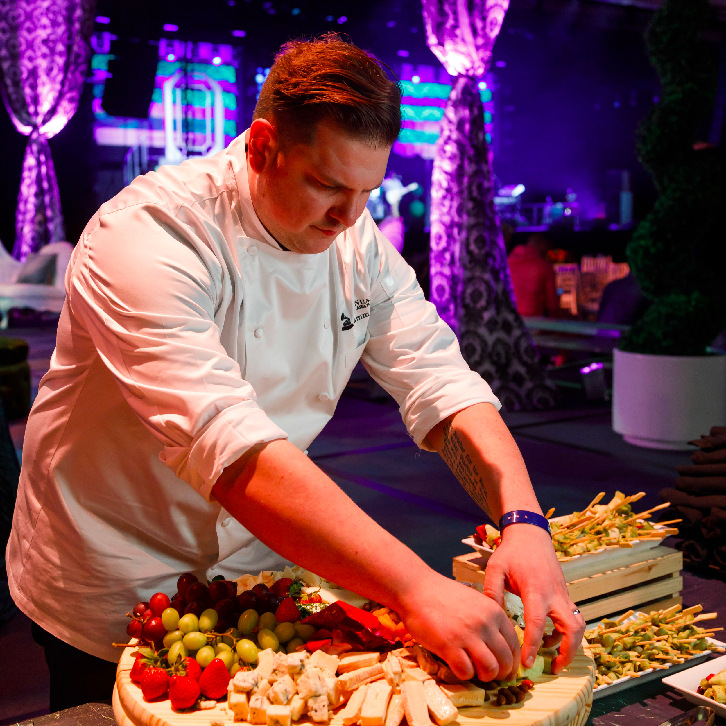 Top Chef Joe Flamm, Grammy Celebration 2019
