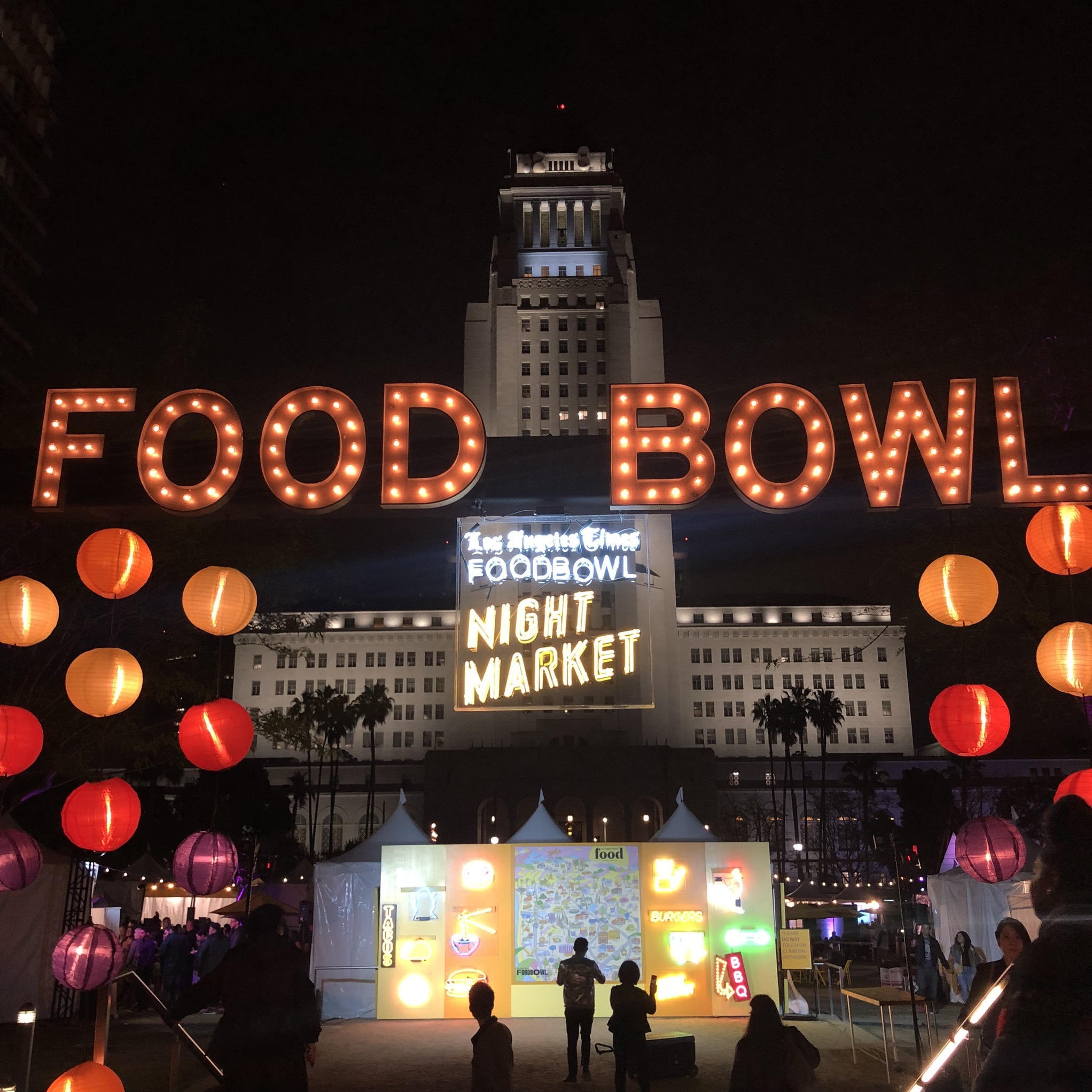 LA Times Food Bowl Night Market with JJLA