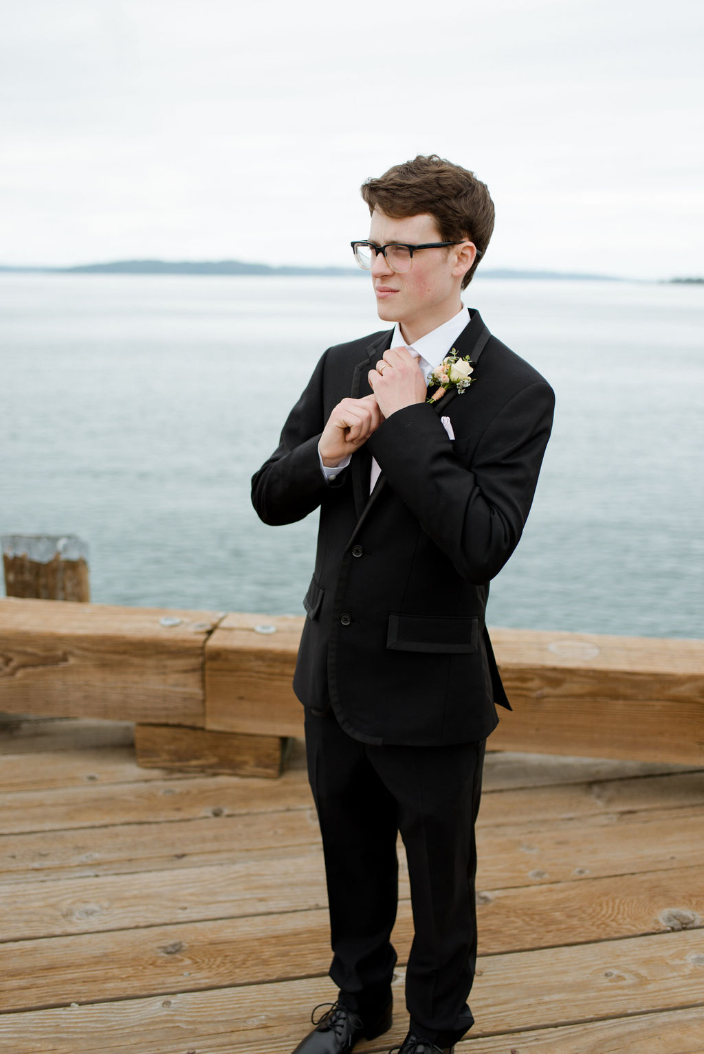 Groom at Old Town Dock