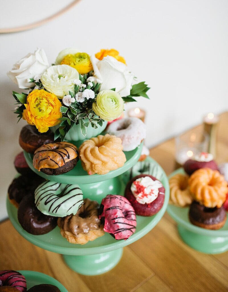 Fun and delicious donuts from Original House of Donuts. Image by Lisa Monet Photography
