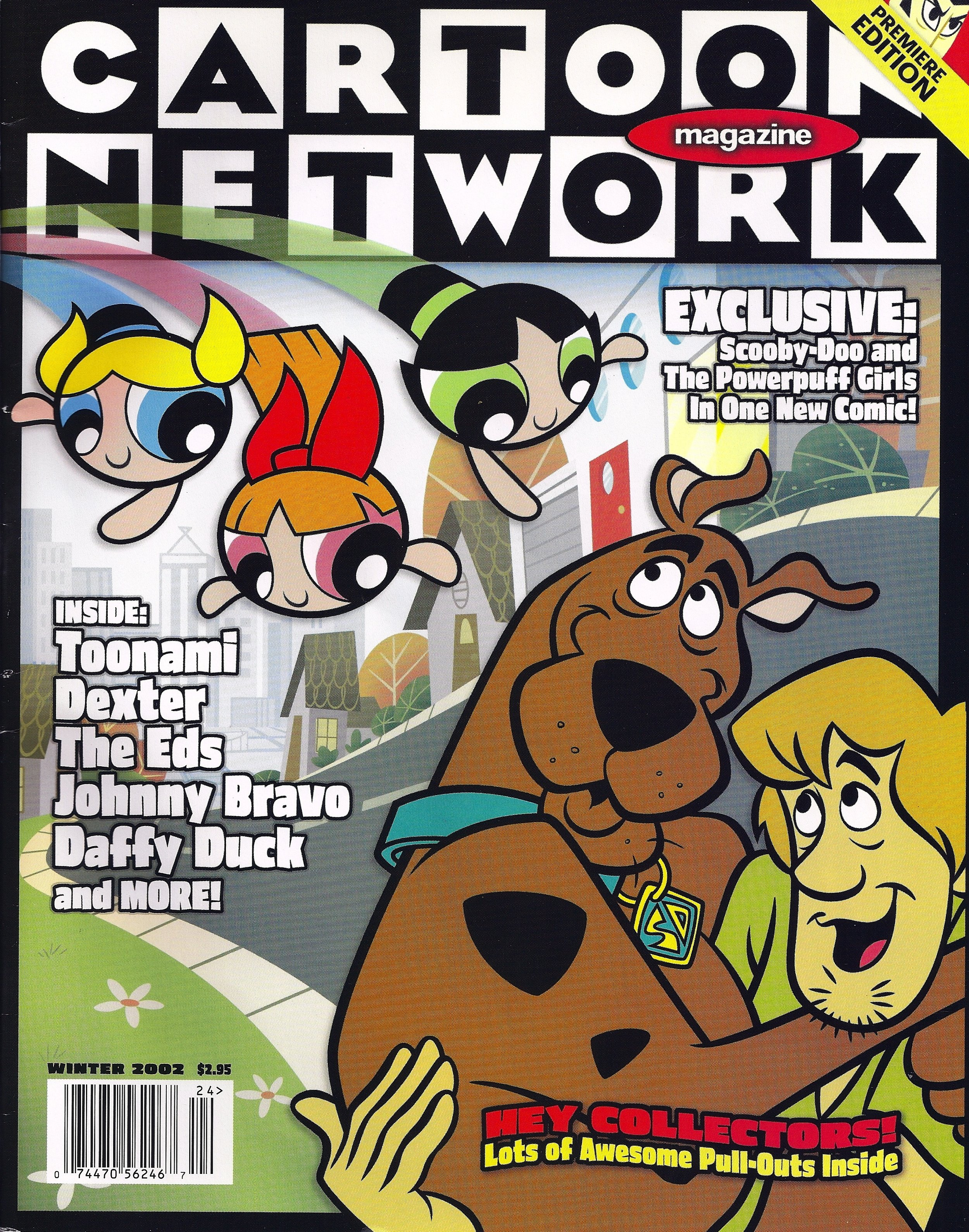 Cartoon Network Magazine Christine Moore
