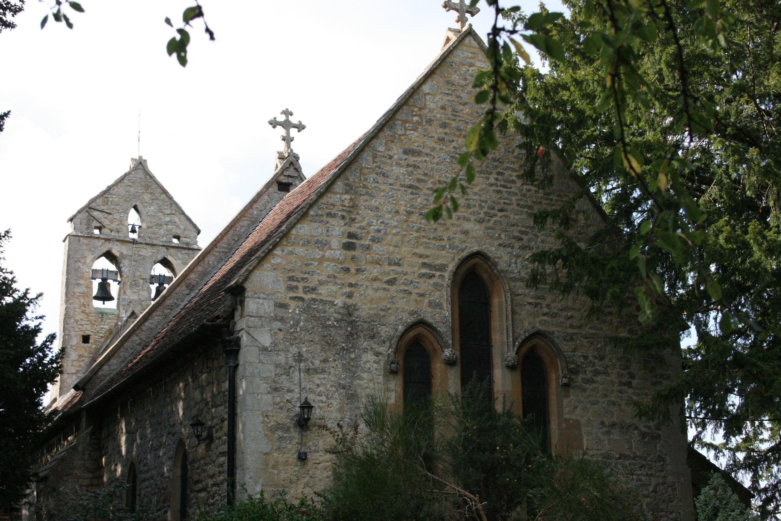 St Nicolas Church, Forest Hill. Oxfordshire