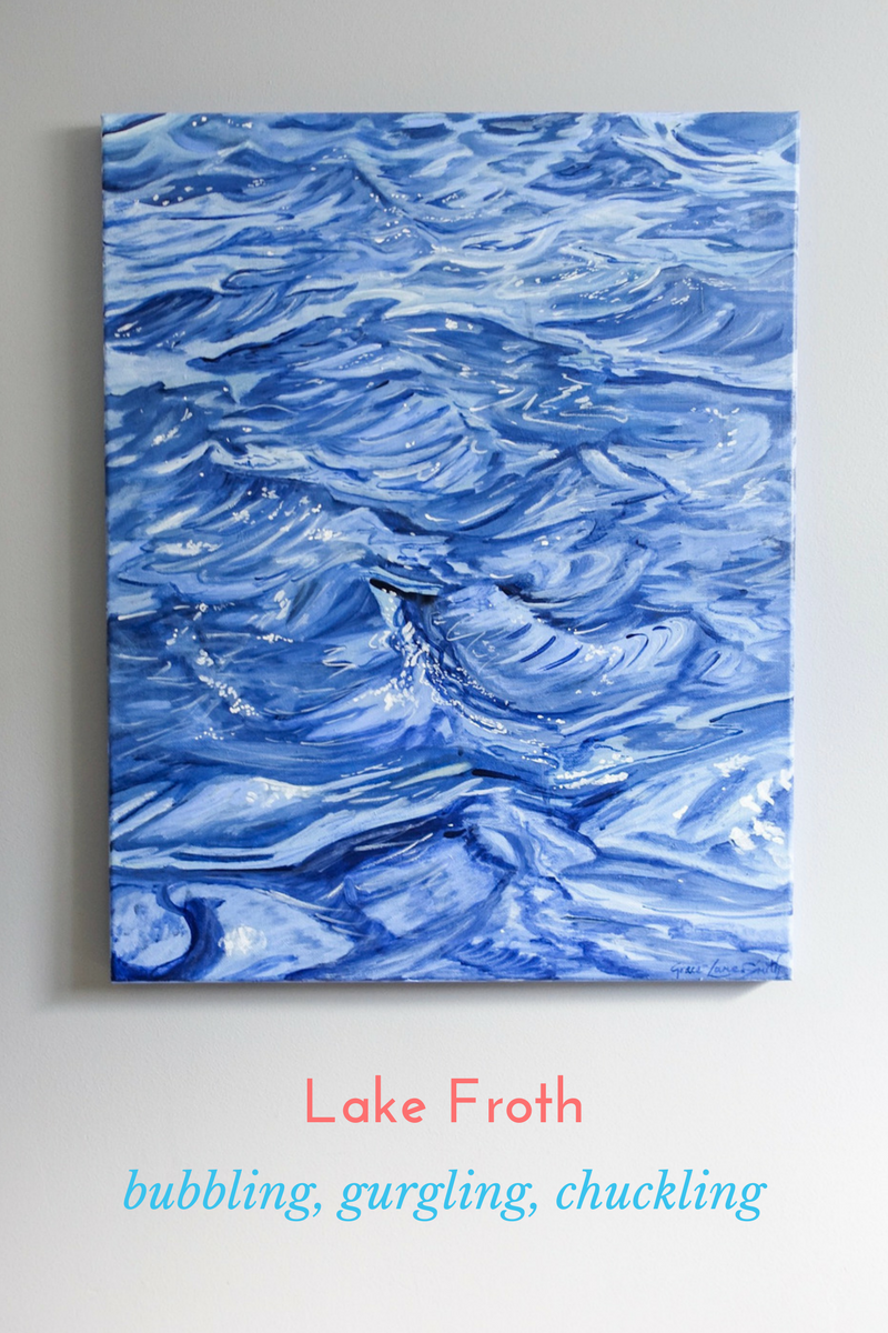 'Lake Froth' - Bubbling, gurgling, chuckling... this is the voice of the lake...Click here for more info on 'Lake Froth'!SAVE 15%!! Code: SHOEBOX15