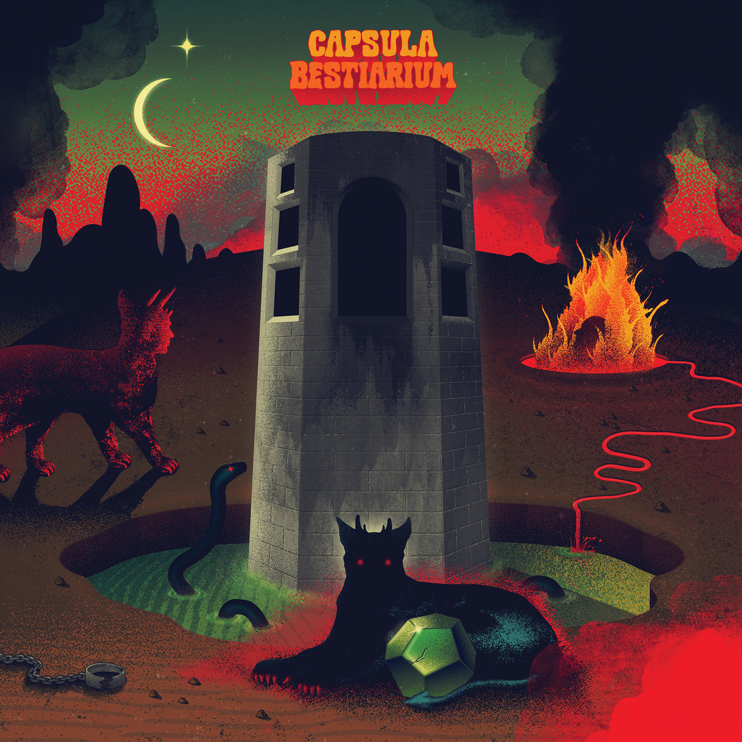 Capsula - Bestiarium - LP - Sept 2018