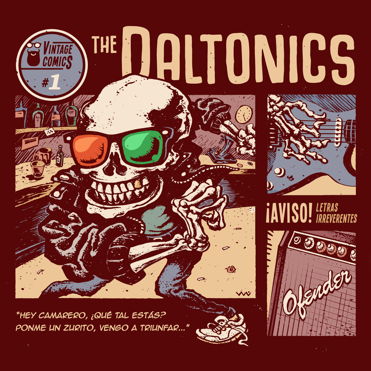 The Daltonics - LP - Nov 2017