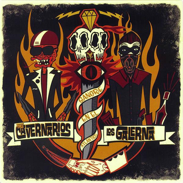 Los Galerna - Split c/ The Cavernarios - Dic 2014