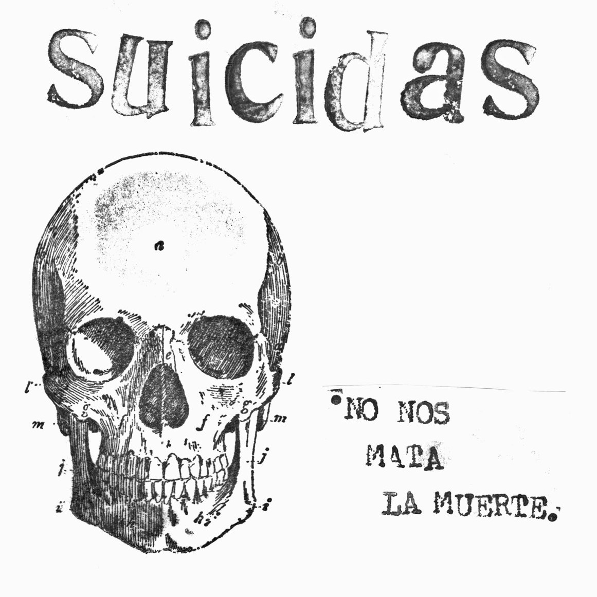 Suicidas - (Post-prod, Mix & Mast) - EP - Ago 2013