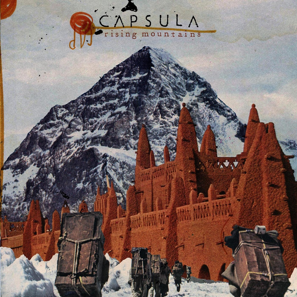 Capsula - Rising Mountains - LP - 2009
