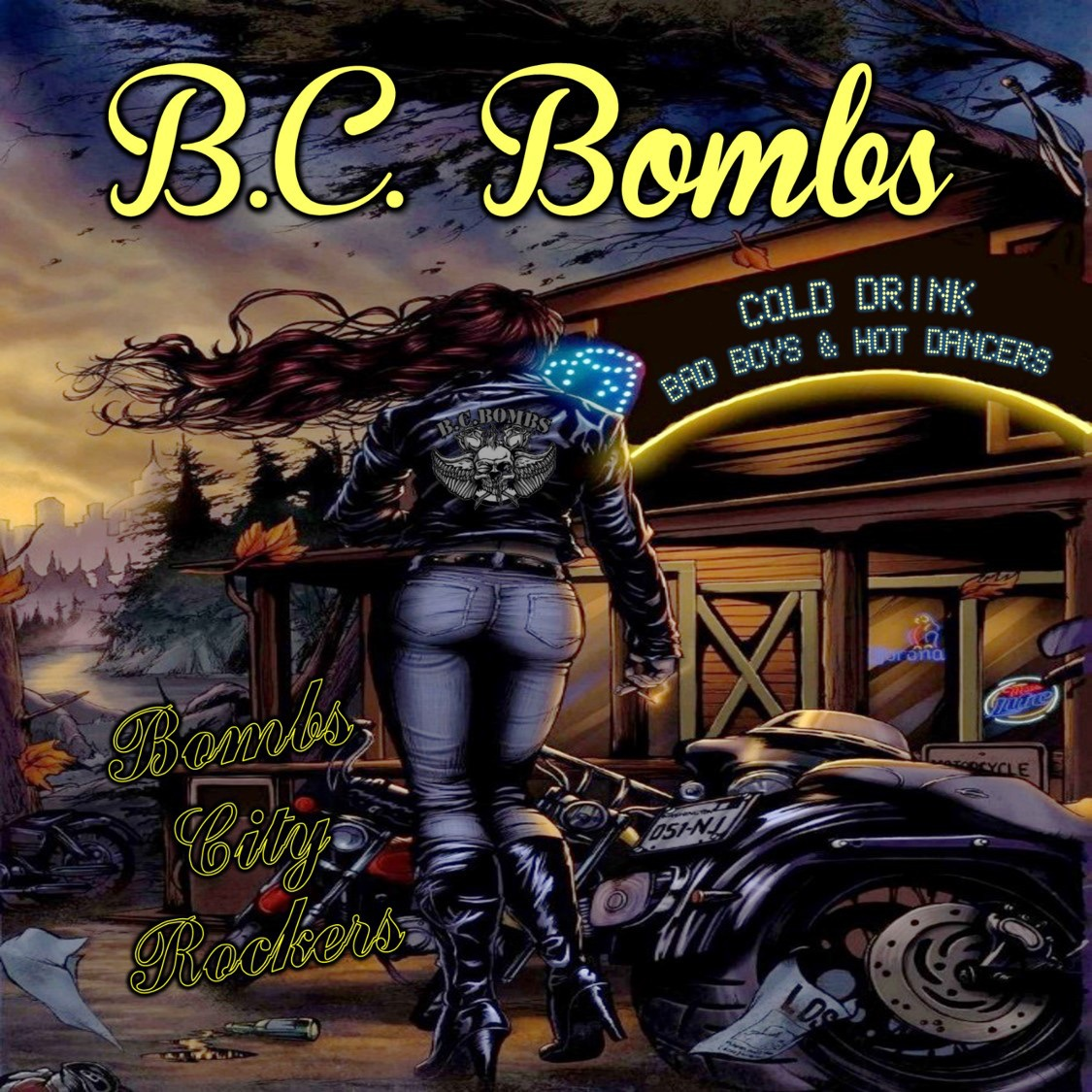B.C. Bombs - Bombs City Rockers - LP - 2014