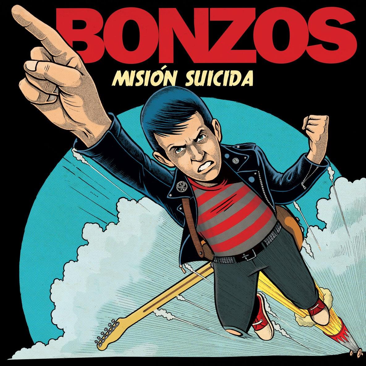 Bonzos - Mision Suicida - LP - Sept 2017
