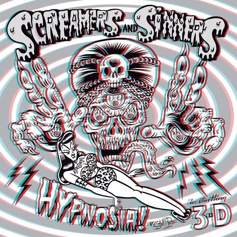 Screamers & Sinners - Hypnosia - LP - Ene 2019