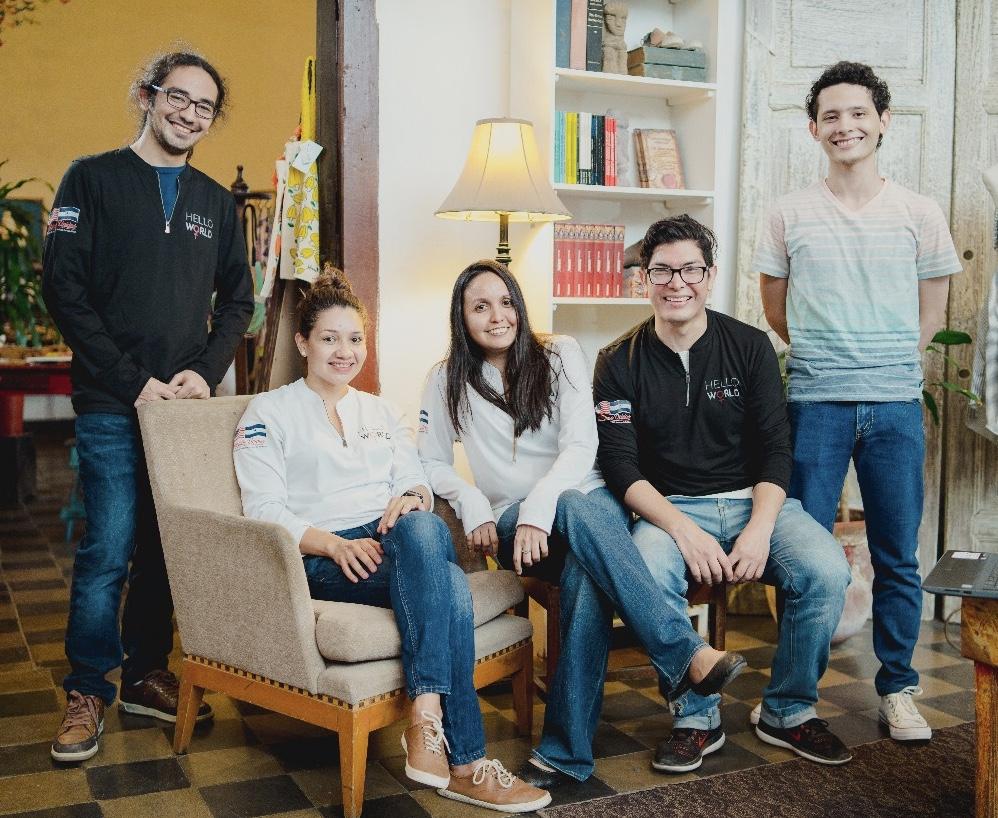 Girls Coding Club Founding Team