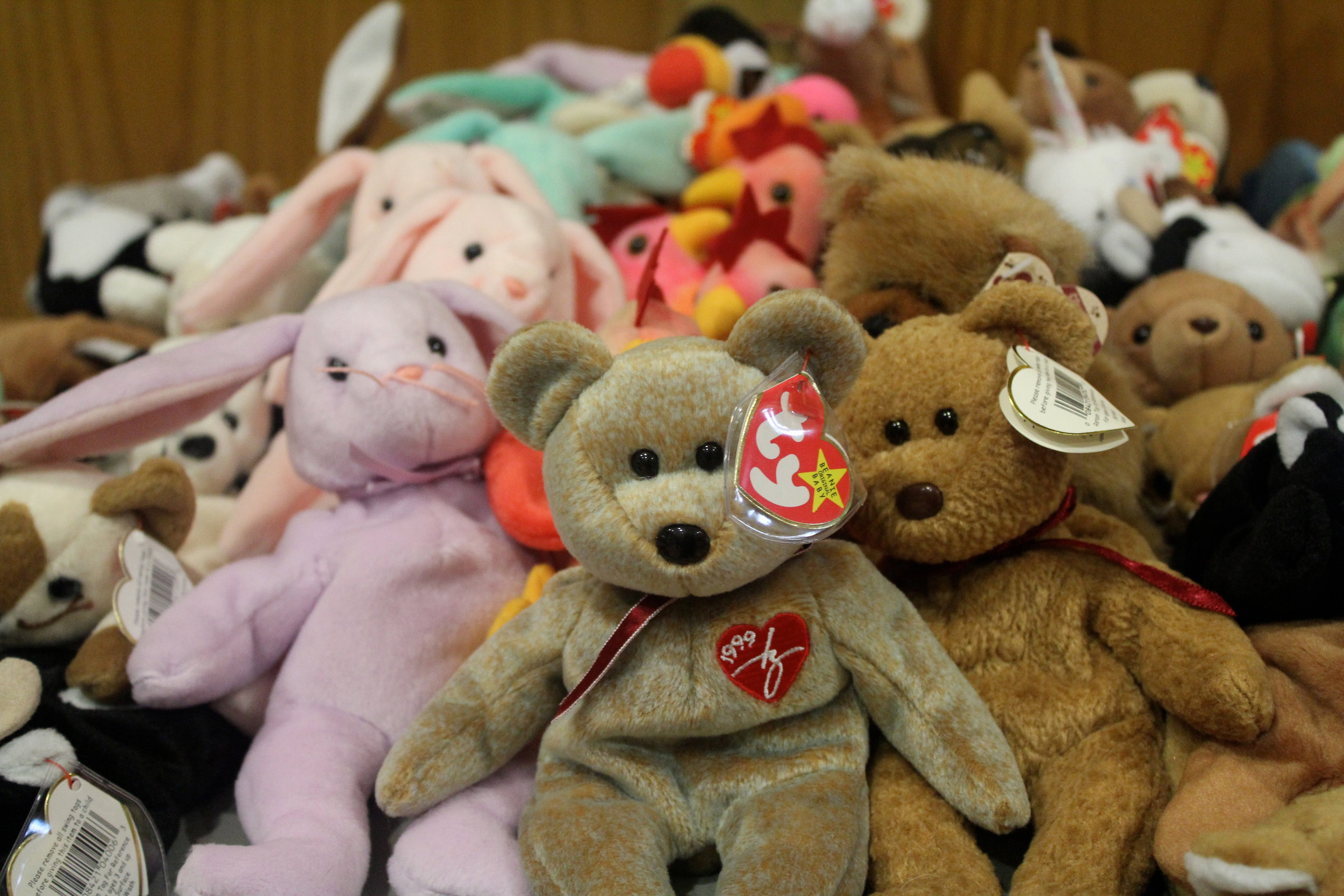 If you have Beanie Baby collections or friends with collections they are graciously always accepted. -