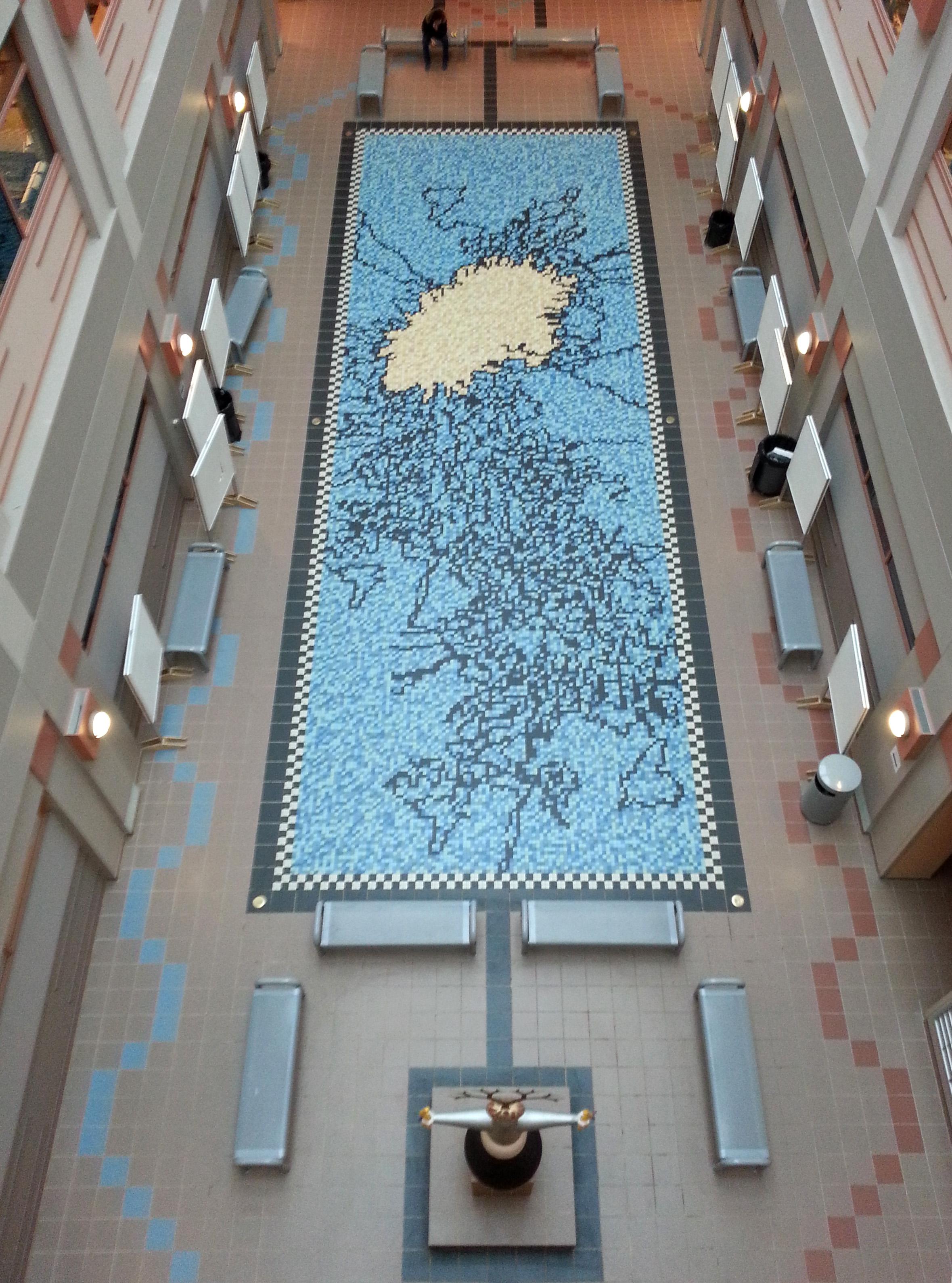 Molecular Biology Building Atrium